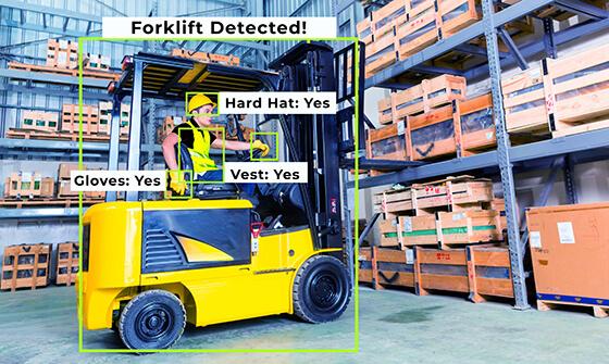 forklift detected